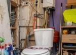 toilet en cv- zolder